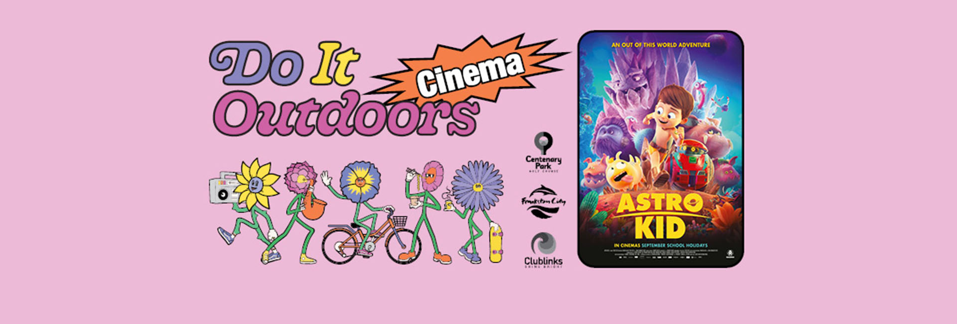 Do it Outdoors Family Fun Outdoor Cinema