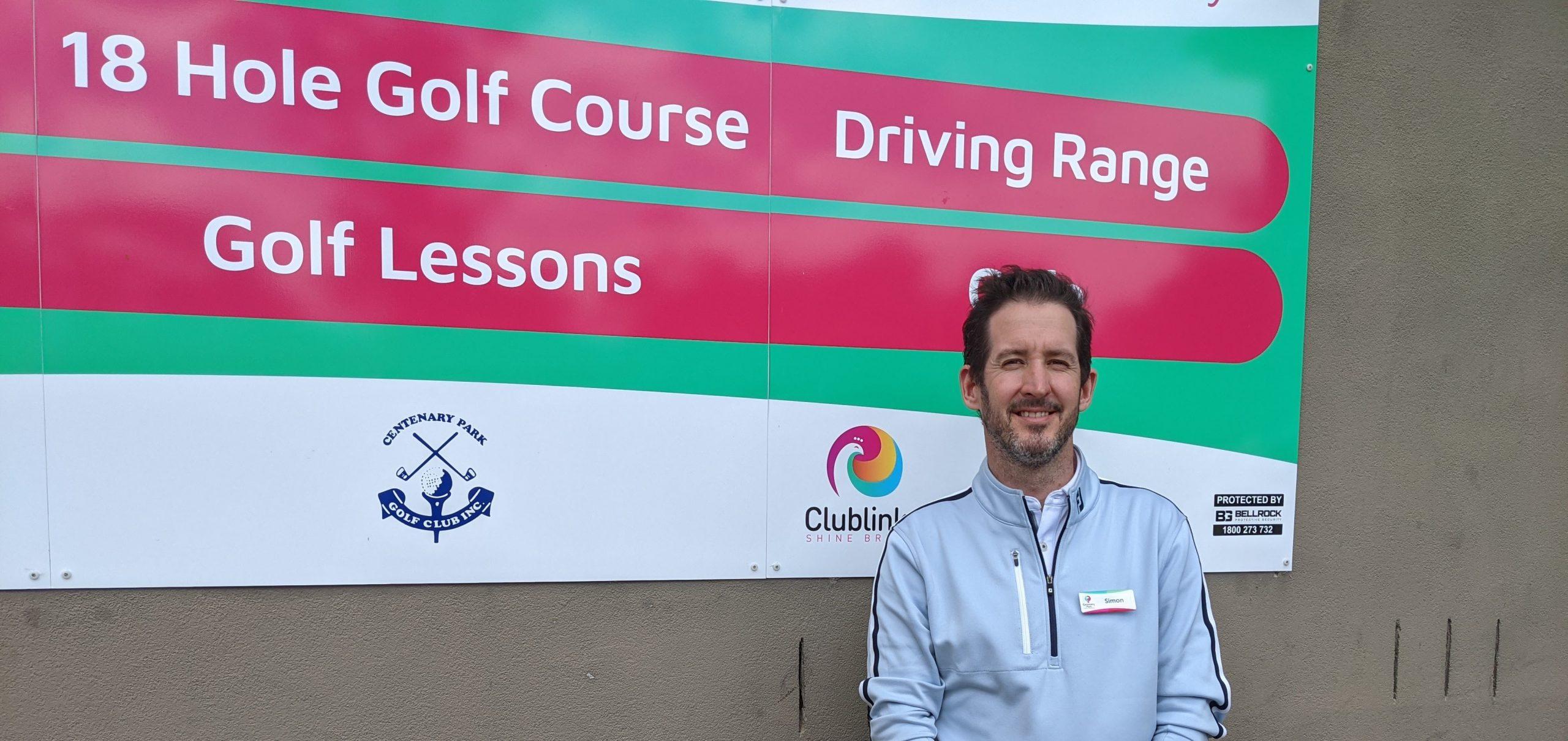 Centenary Park Golf Course Simon Risstrom
